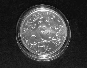 "China ""Silber-Panda 1992"""