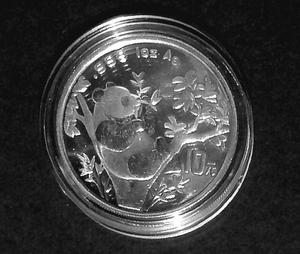 "China ""Silber-Panda 1995"""