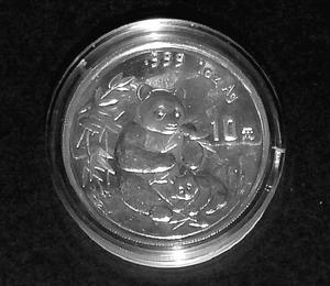 "China ""Silber-Panda 1996"""