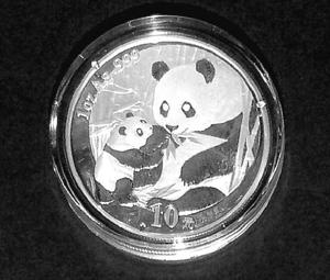 "China ""Silber-Panda 2005"""